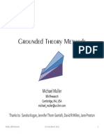 Grounded theory for Muller