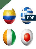 Banderas Pelotas Mundial