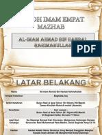 Tingkatan 4 Pendidikan AlQuran Dan Sunnah Nota Imam Ahmad