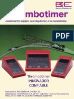 Catalogo Thrombotimers