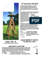 AERMOTOR Windmill Catalog Page57a