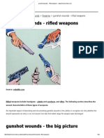 Gunshot Wounds - Rifled Weapons __ Www.forensicmed.co