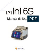 Manual de Usuario Fusionadora Mini 6S Español