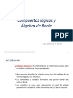 2-Compuertas y Algebra de Boole