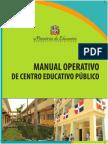 Centro Educativo Público. Manual Operativo