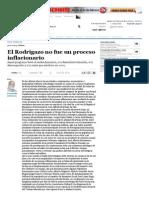(1975) El Rodrigazo No Fue Un Proceso Inflacion - Del Corro, Fernando