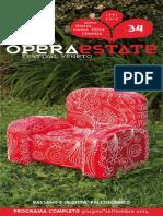 Operaestate Festival Veneto pre-programma 2014