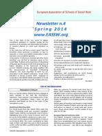 2014 - EASSW Newsletter-2