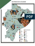 Grupos Étnicos en El Ecuador