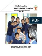 Shikshamitra Teacher Training Brochure, 2011