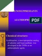 Azathioprine drug