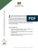 Diccionario de Competencias Laborales Utfsm