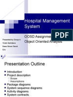 hospital management ppt