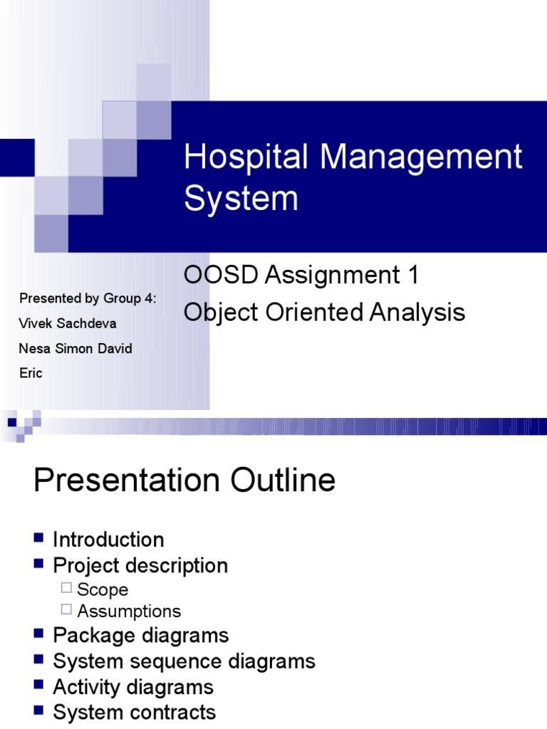Hospital management ppt payments credit card ccuart Images