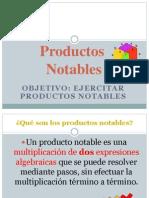 Productos Notables 1eros Medio