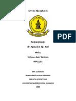 NYERI ABDOMEN-radiologi Lengkap