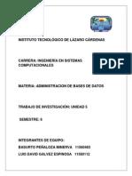 Unidad 5 Administracion Bd