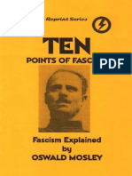 Oswald Mosley - 10 Points of Fascism