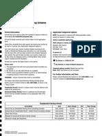 Traffic Area Resident Parking Scheme Permit Application 2014