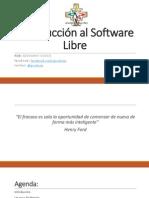 01 - Introducción Al Software Libre
