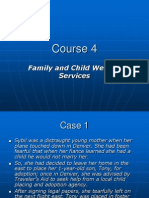 COURSE FOUR_family and Child Welfare Services