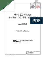 16-85 Service Manual