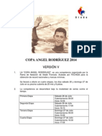 Convocatoria Copa Angel Rodriguez 2014