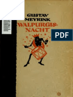 Gustav Meyrink - Walpurgisnacht