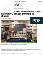 mps special-ed audit results seen as a real opportunity     that can only make us stronger  minnpost