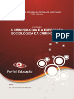 Módulo i - Criminologia