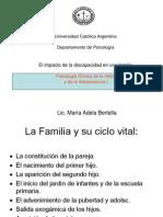 El Impacto de La Discapacidad en La Familia