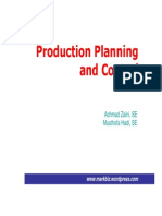4 Production Planning Control