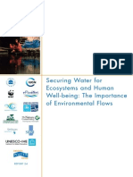 WWF2009_SecuringWaterForEcosystems&HumanWellbeing