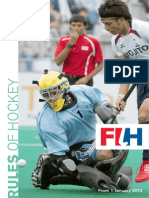 fih-rules of hockey 2012-interactif