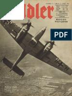 Der Adler - Jahrgang 1943 - Numero 15 - 27. Juillet 1943 - Édition française