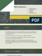 USD INR Predictions