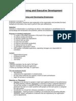 Unit 3_Training and Executive Development
