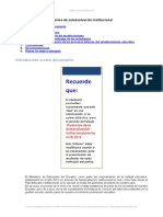 Ejemplo Informe Autoevaluacion Institucional