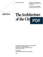 Aldo Rossi Architecture of the City