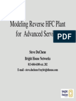 Modeling Advanced Services