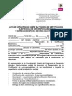 Acta Administrativa