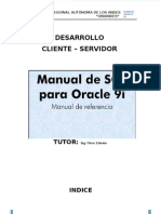 Manual Oracle 9i