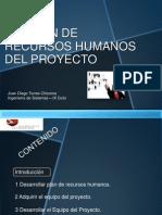 Gestión de Recursos Humanos Del Proyecto