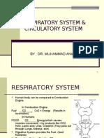 RISPIRATORY SYSTEM & CIRCULATORY SYSTEM