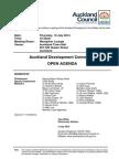 Auckland Development Committee Agenda June - 14