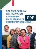 Política Para La Participación Ciudadana en El Marco de La Corresponsabilidad