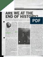 WEEK 10   Are we at the end of history Francis Fukuyama