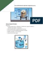 Proyecto de Instalación de Elevado de Tanque de Agua