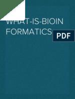 what-is-bioinformatics