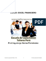 Libro de Excel Financiero
